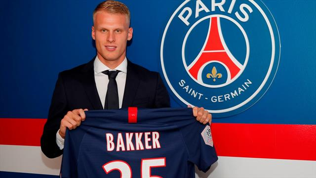Le PSG recrute Bakker, jeune défenseur de l'Ajax