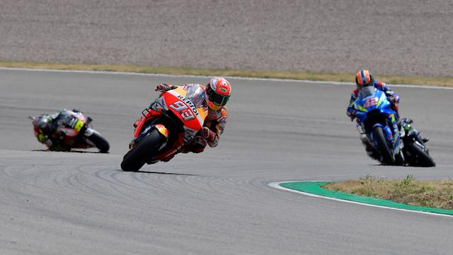 Ten out of 10 for Marquez at the Sachsenring