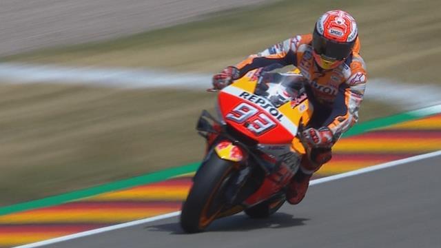 Tiende overwinning Marc Marquez in Duitsland
