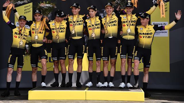 """Mit Video   """"Atemberaubend"""": Martin feiert Tour-Triumph im Teamzeitfahren"""