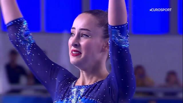Carlotta Ferlito trionfa in lacrime: è oro nel corpo libero alle Universiadi di Napoli