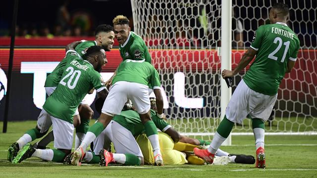 Madagaskar nach Elfer-Krimi im Viertelfinale - Algerien souverän