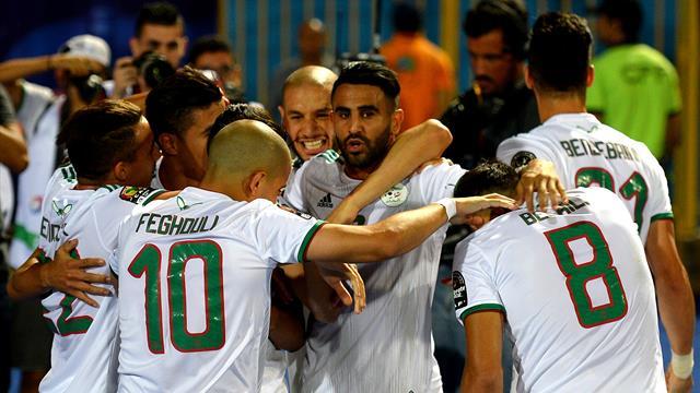 Copa África 2019: Sobrado de clase... ¡El tremendo golazo de Mahrez!