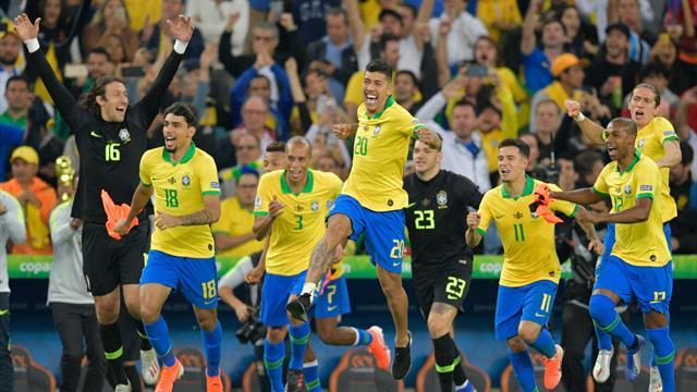 Le Brésil ramène la Copa à la maison