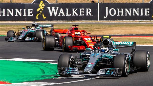 Nuovi sviluppi per una Ferrari in crescita, ma Silverstone è una pista Mercedes