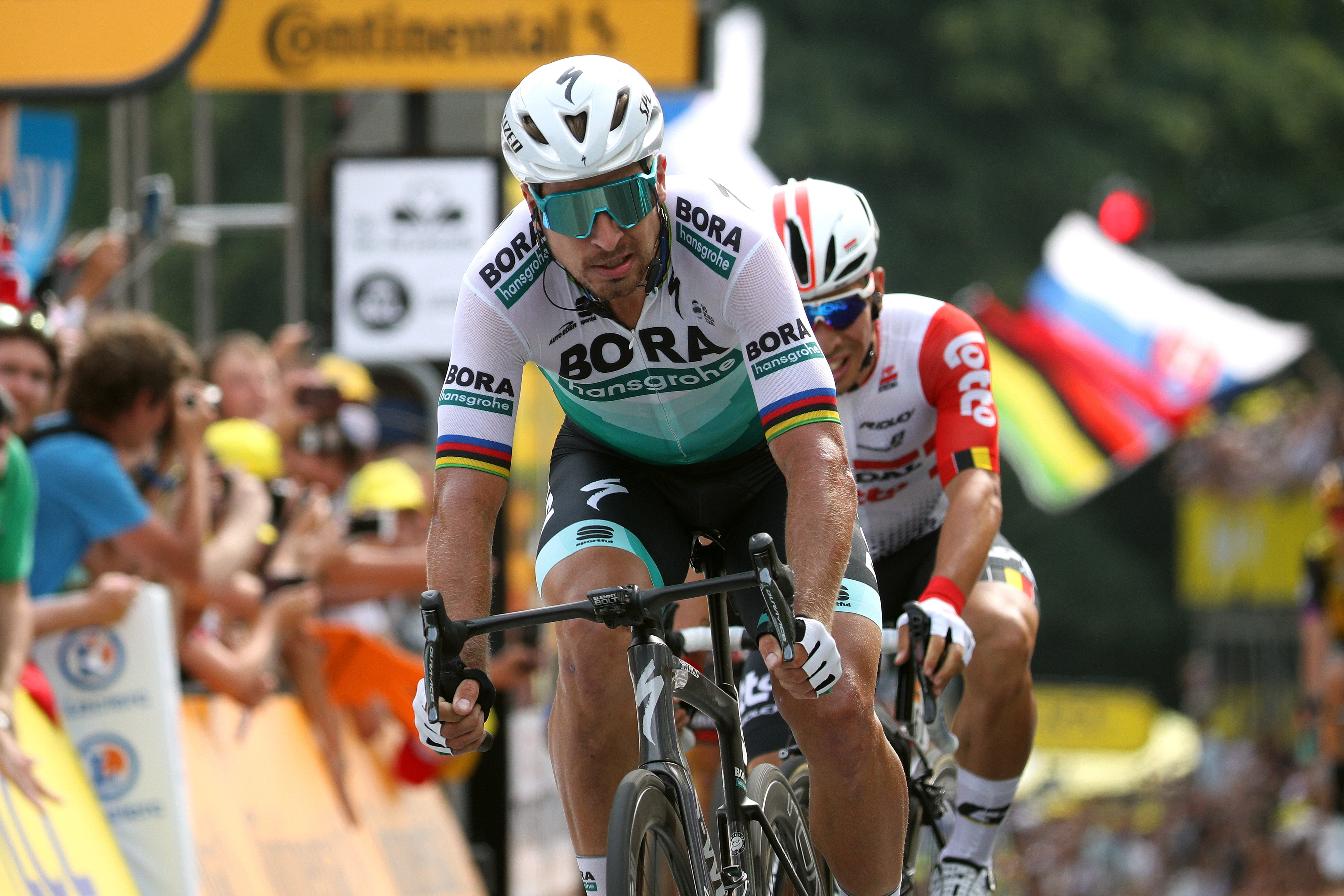 Peter Sagan lors du Tour de France 2019