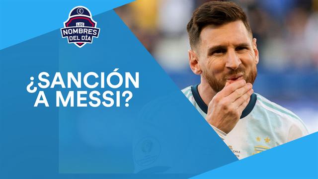 Messi, Argentina, la Selección de baloncesto, Estados Unidos y De Ligt, los nombres del día