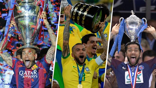 QUIZ - Connaissez-vous les 40 trophées remportés par Dani Alves ?