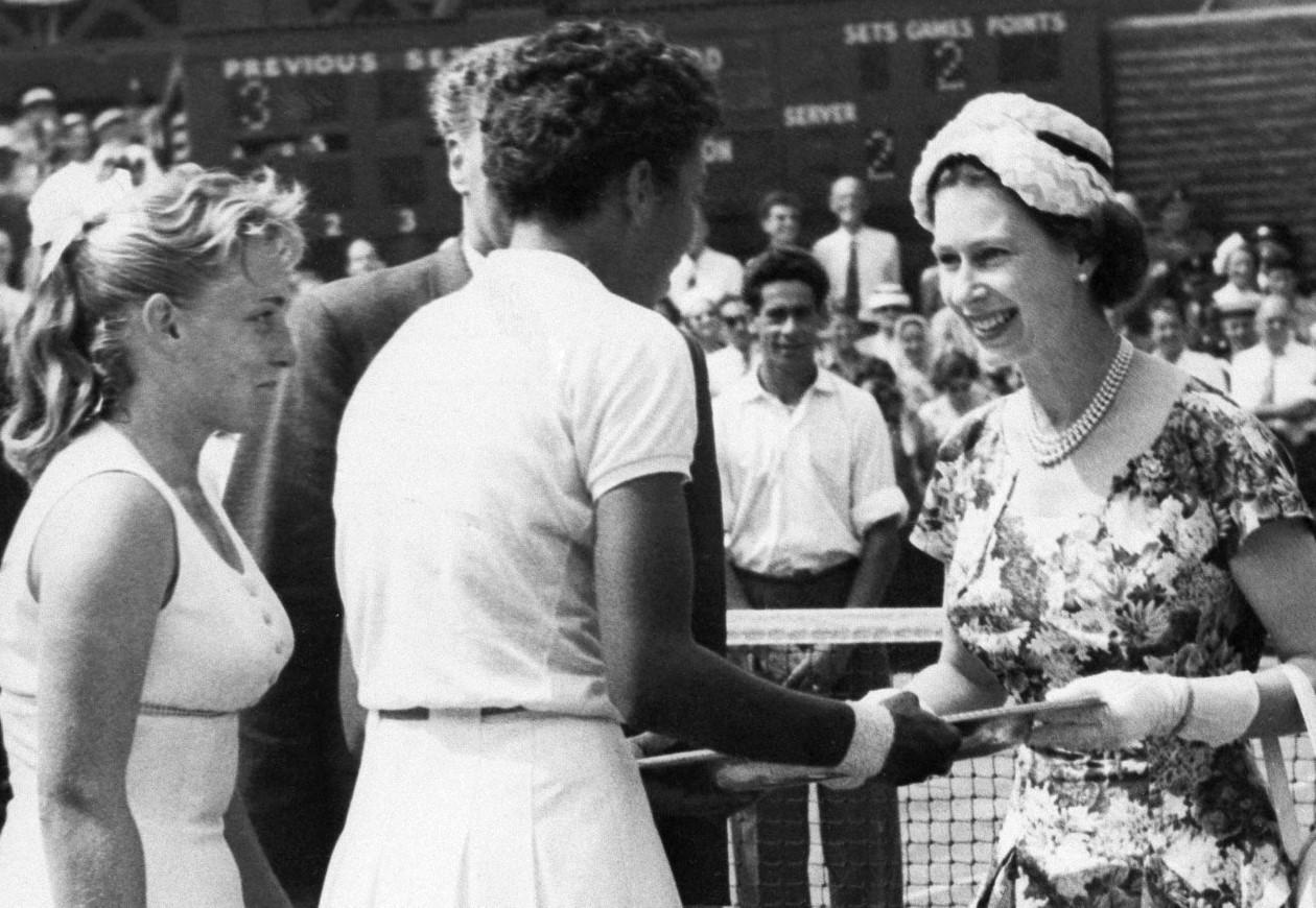Althea Gibson ve Kraliçe Elizabeth