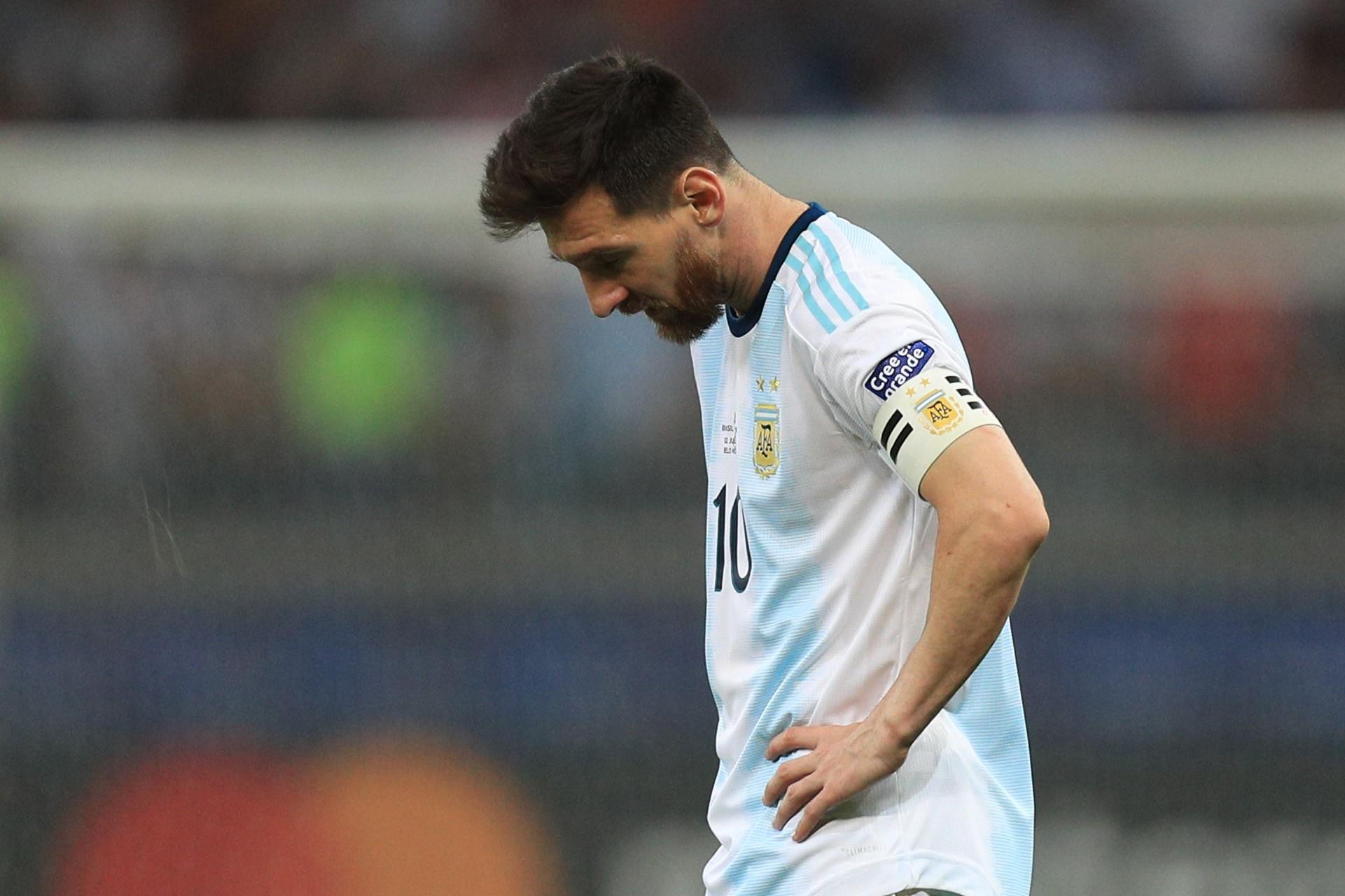 Lourde sanction pour Lionel Messi — Argentine