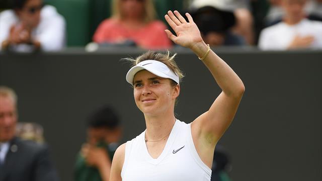 Elina Svitolina en demi-finale pour la première fois en Grand Chelem