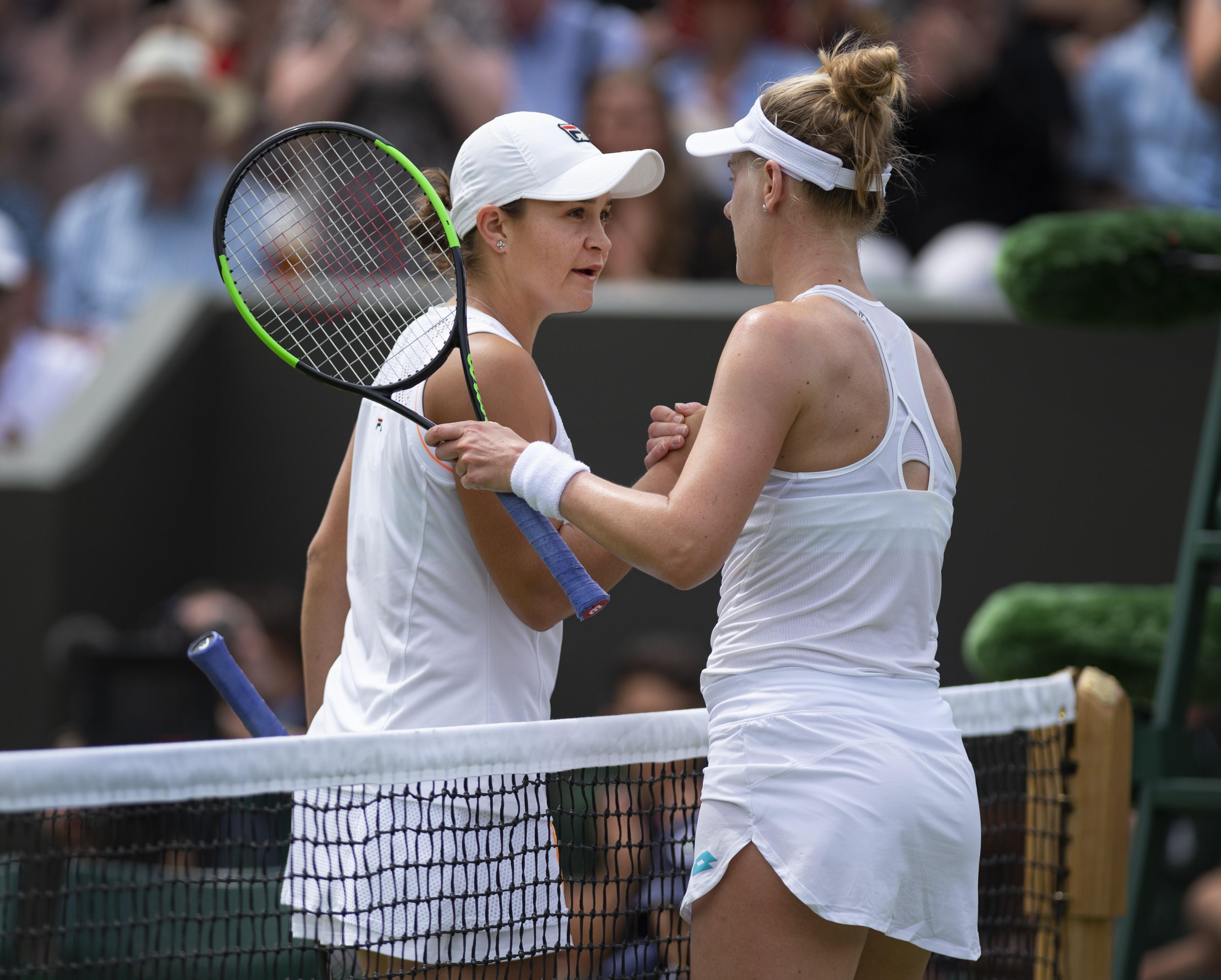 Wimbledon: Ashleigh Barty rejoint les huitièmes de finale