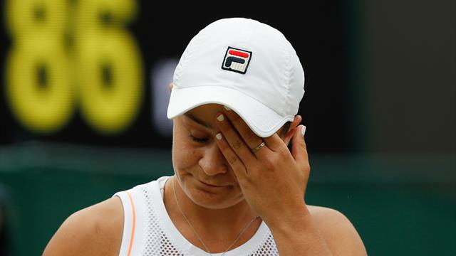 Ashleigh Barty rejoint les huitièmes de finale — Wimbledon