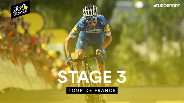 Stage 3 Highlights: Alaphilippe provides champagne moment to seal brilliant win and take yellow