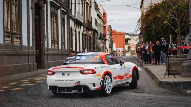 Polonski prêt pour une aventure sur asphalte en Abarth Rally Trophy
