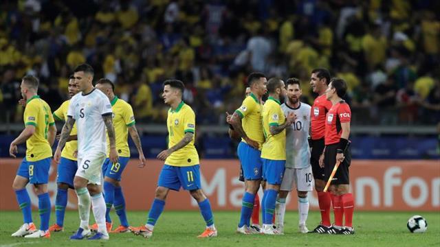 Messi ausente en el once ideal de la Copa América