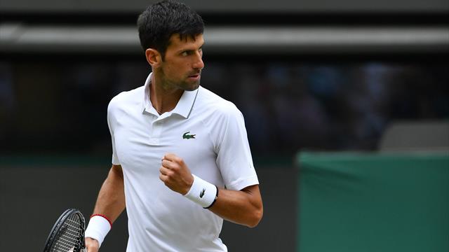 Mühelos ins Halbfinale: Djokovic lässt sich von Goffin nicht aufhalten