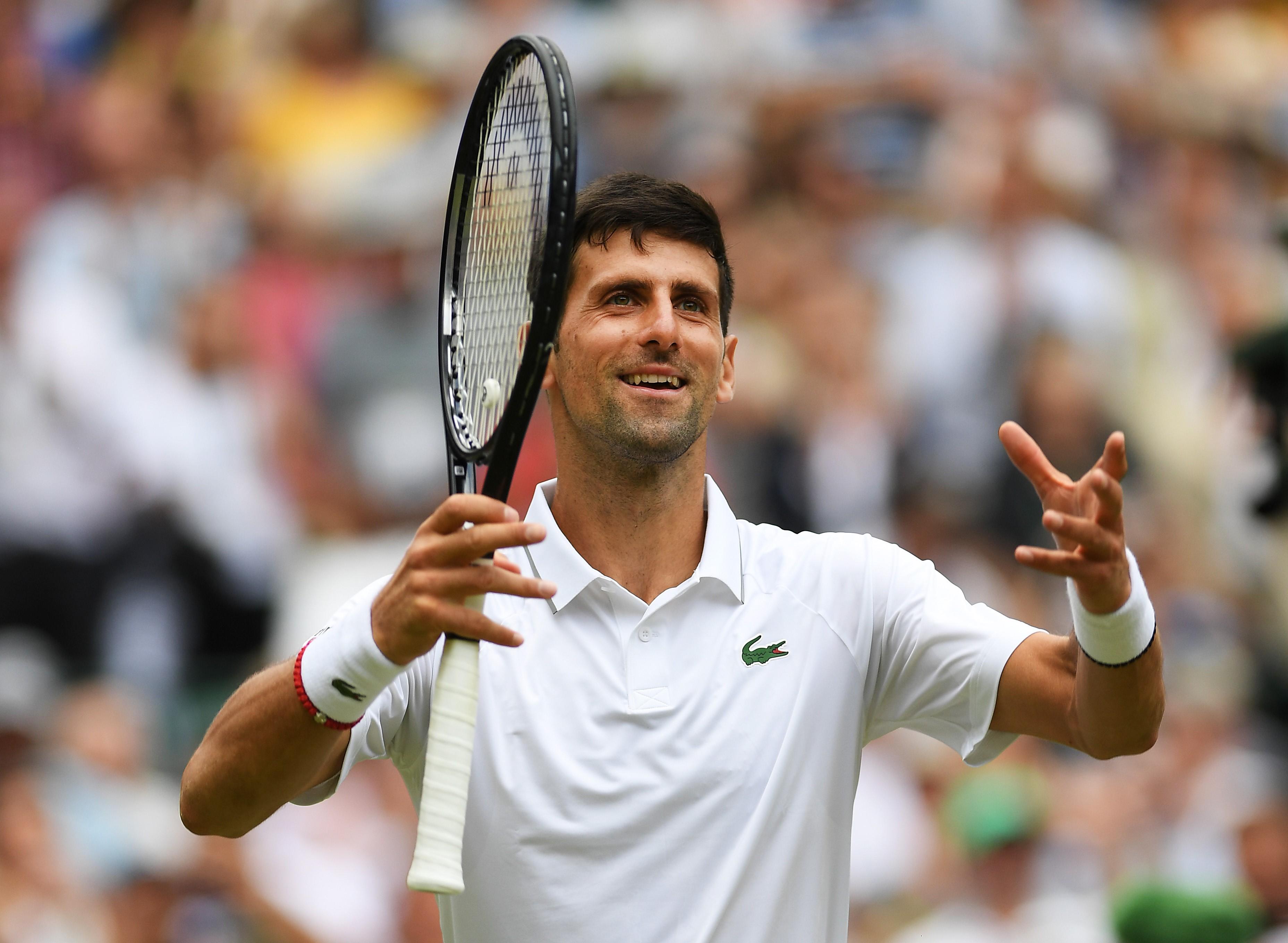 Novak Djokovic (2019 Wimbledon)