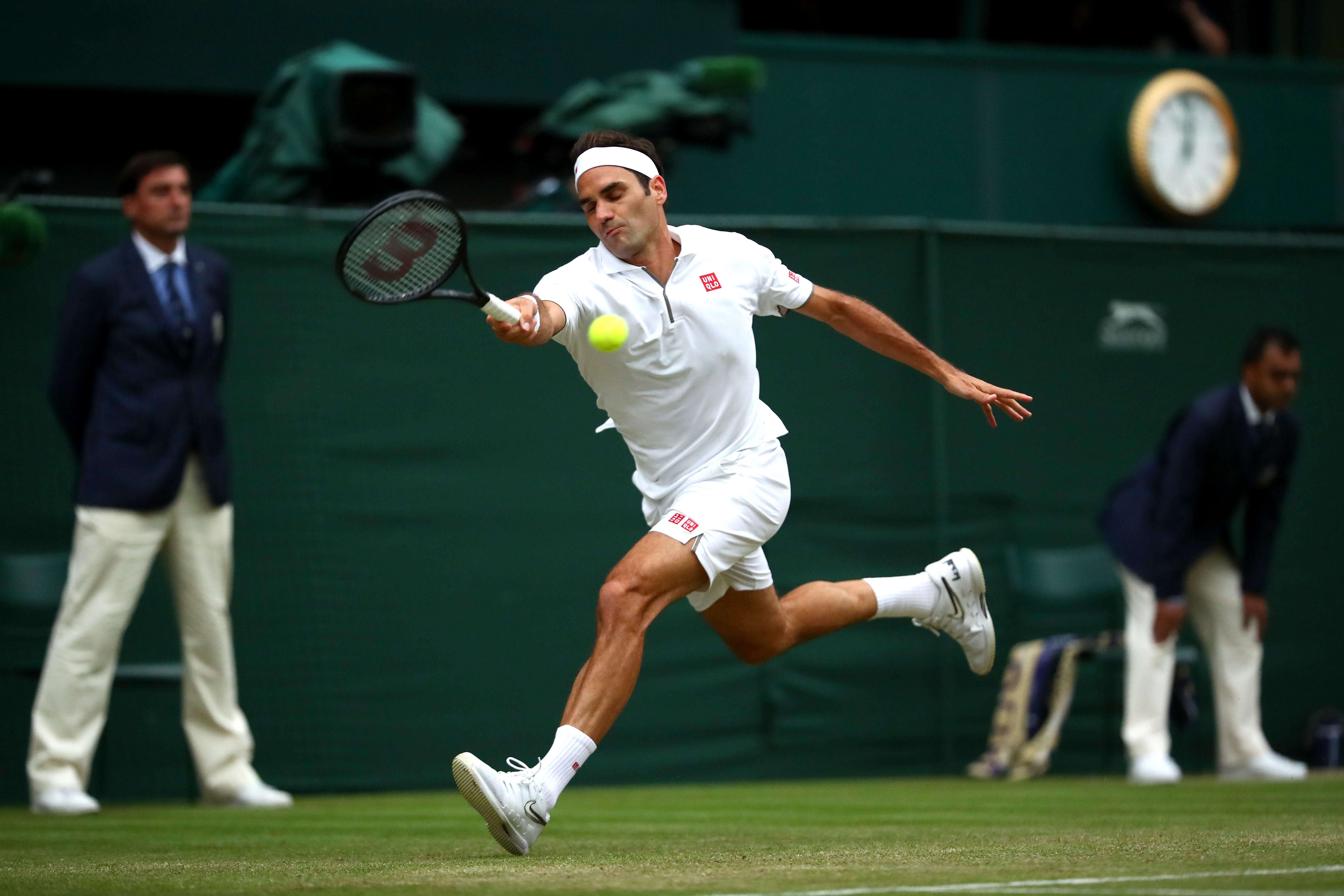 Roger Federer (2019 Wimbledon)