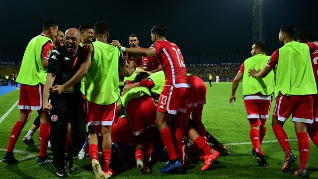 Túnez vence a Ghana en los penaltis y supera una eliminatoria por primera vez en quince años