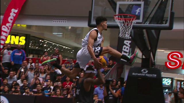 Los mejores mates no siempre están en la NBA: espectáculo en México
