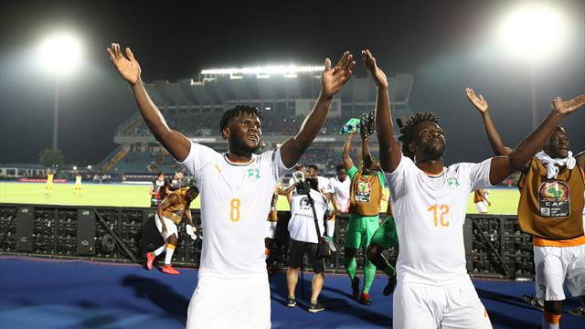 'We'll work more' - Wilfried Bony reacts after Zaha sends Ivory Coast into last eight
