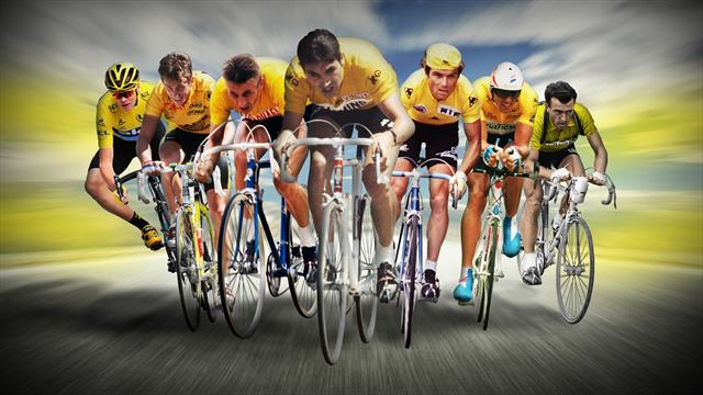 Alle Gesamtsieger der Tour de France seit 1903