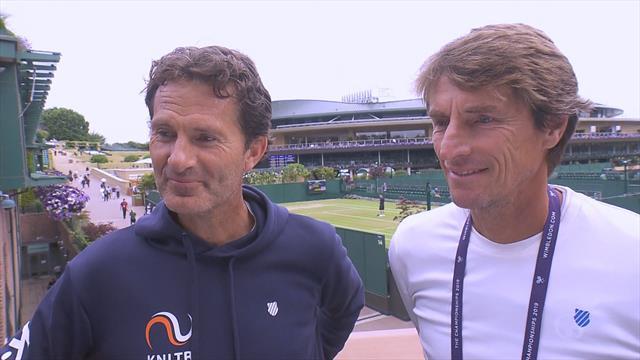 Jacco Eltingh en Paul Haarhuis over de Nederlandse inbreng en kanshebbers op Wimbledon
