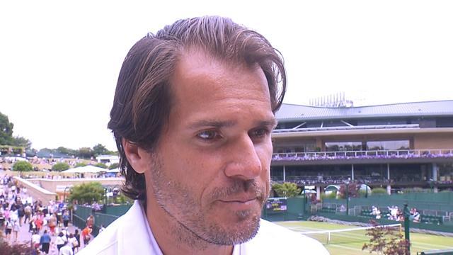 Tommy Haas denkt niet dat er nog iets beter kan aan het spel van Roger Federer