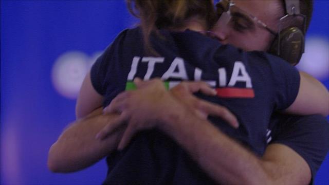 Universiade: Final Shooting Mixed Team Air Pistol Taipei Italia Shooting
