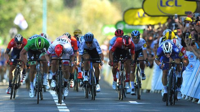 Revanchard, Viviani a mis dans le mille à Nancy : le final de la 4e étape en vidéo