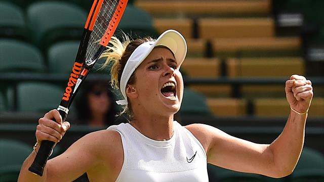 Svitolina reaches first career Grand Slam semi-final with victory over Muchova