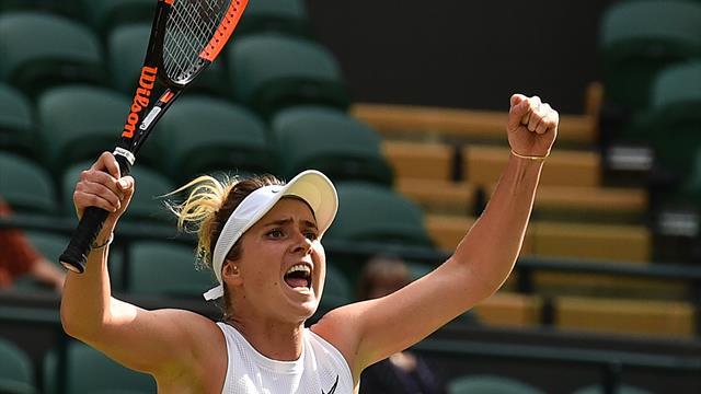 Svitolina voorbij Muchova naar halve finale Wimbledon