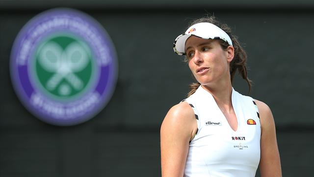 'Don't patronise me!' - Konta hits back at journalist after Wimbledon exit