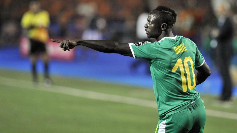 Sadio Manè - Senegal - Africa Cup of Nations