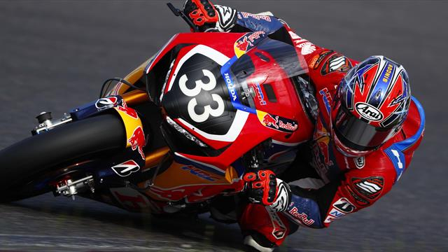 Red Bull Honda garde la main