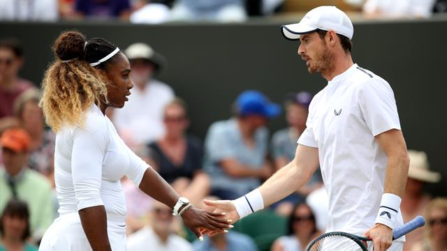 Murray and Serena's doubles dream ended by top seeds Melichar and Soares
