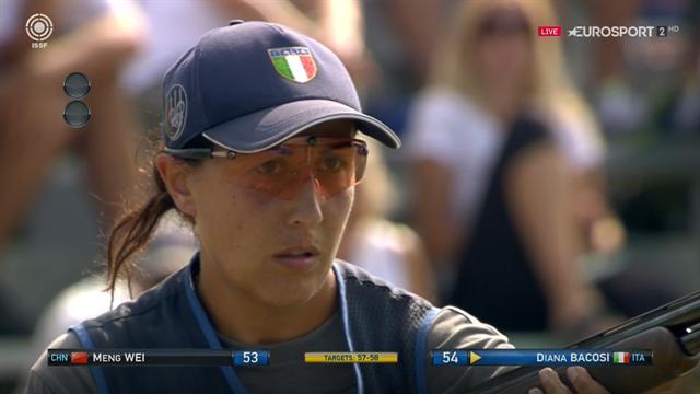 Tiro a Volo, orgoglio italiano: Diana Bacosi è campionessa del mondo