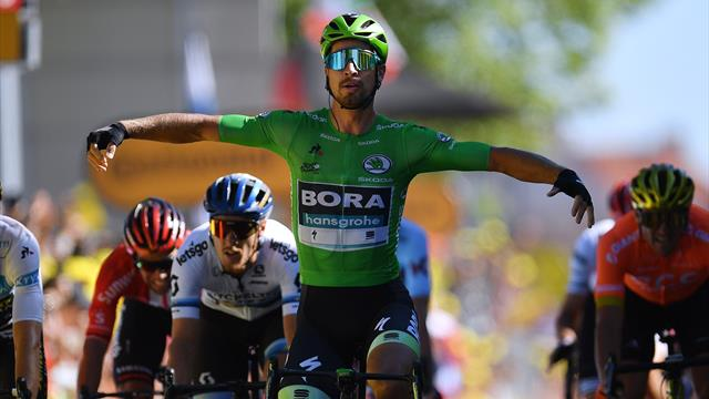 Tour de France: Sagan brille avant La Planche