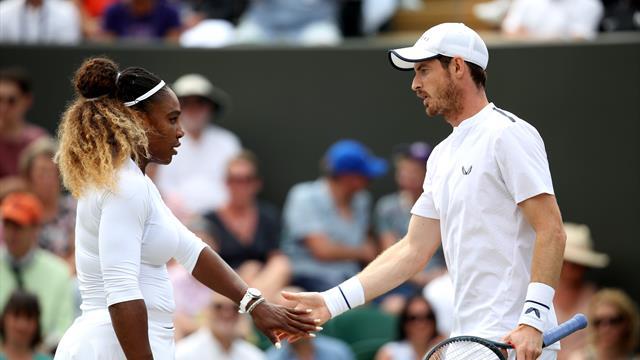 Fin de l'aventure en double mixte pour Murray et Williams