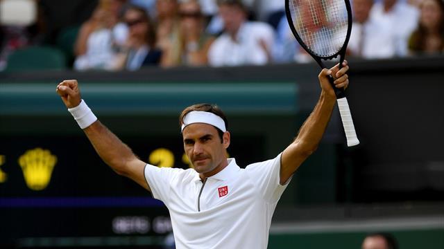 Federer, centenaire presque sans trembler