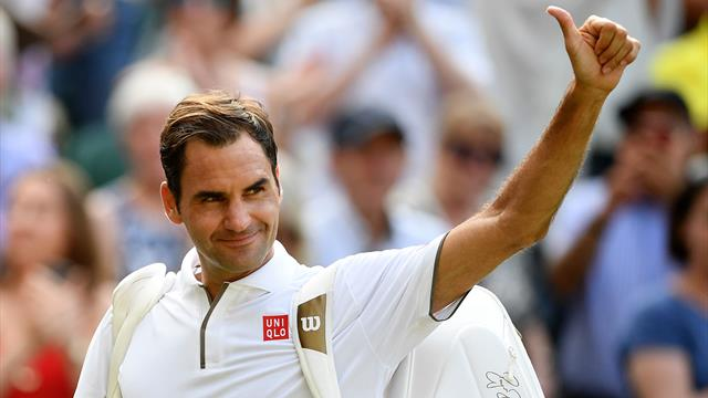 Federer seals 100th Wimbledon win; faces Nadal in semi-final