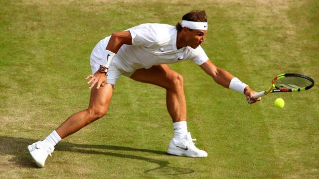 Nadal makkelijk voorbij Querrey - halve finale tegen Federer