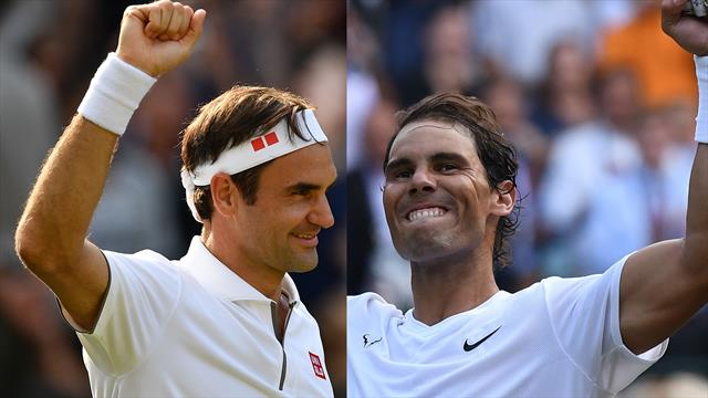 Nadal sets up Federer semi-final showdown 11 years after last Wimbledon meeting