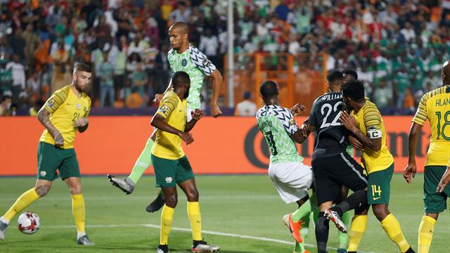 William Troost-Ekong capitalises on keeper error to win it