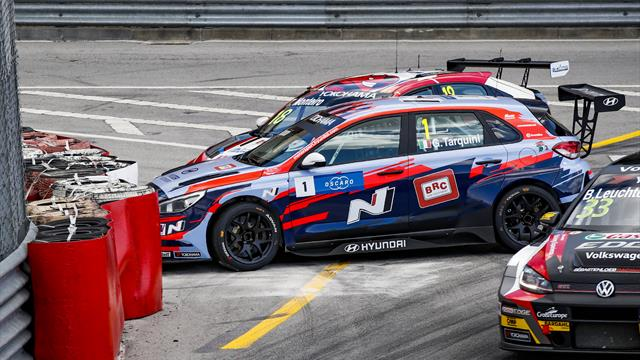 When former team-mates collide in WTCR