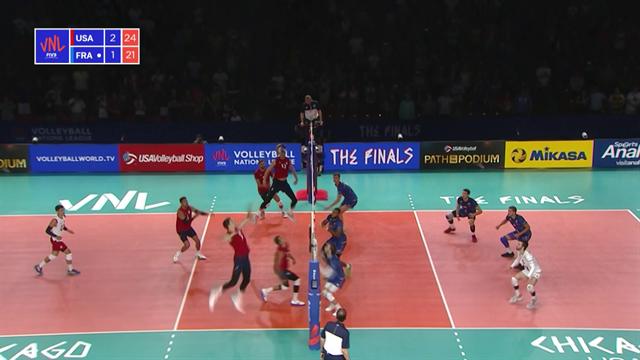 Volleyball Nations League: USA-Francia 3-1, gli highlights
