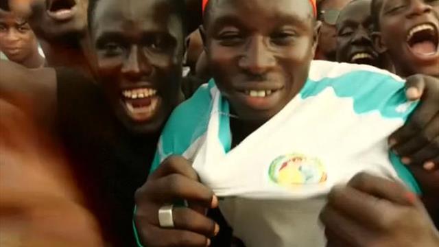 Dakar bascule dans la folie après la victoire du Sénégal