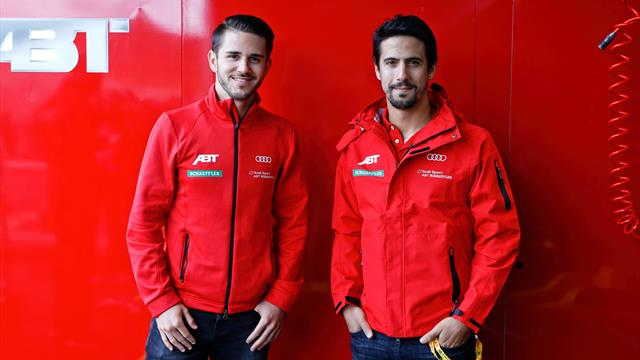Audi setzt weiter auf Duo Abt und di Grassi