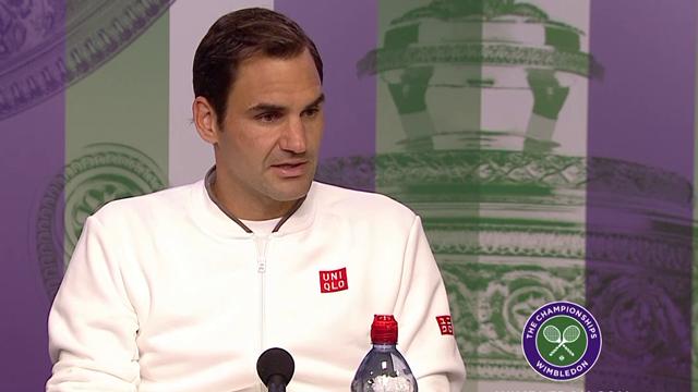 Federers kommentar får journalistene til å humre: – Det ville vært morsomt